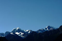 The Peak of Mount Cook Royalty Free Stock Images