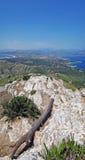Peak of mount la Victoria Royalty Free Stock Image