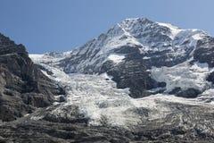 Peak of Mount Moench, Grindelwald, Bernese Oberland, Switzerland Stock Image