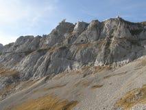 Peak of Mount Pilatus Stock Photos
