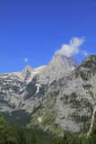 Peak of Mount Spitzmauer. In the austrian alps Stock Images