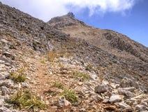 Peak of Mount Tahtali, Turkey Royalty Free Stock Images