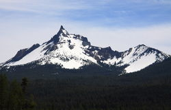 Peak of Mount Thielsen Royalty Free Stock Photography