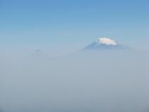 Peak of mountain Ararat Royalty Free Stock Photo