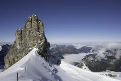 Peak of the mountain Stock Photos