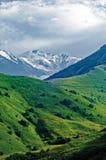 The peak of the mountain Kazbek. Stock Photos