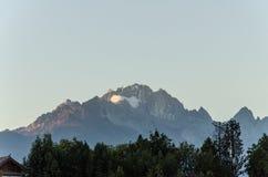 Peak of mountain Royalty Free Stock Image