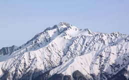 Peak of  mountain near Sochi Stock Photo