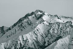 Peak of mountain Royalty Free Stock Photography
