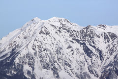 Peak of mountain Stock Image
