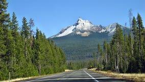 Peak Mt Bailey. Beautiful snowy peak Mt Bailey Royalty Free Stock Photos