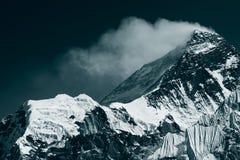 Peak of Mt. Everest Royalty Free Stock Image