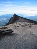 At Peak of Mt Kinabalu, Borneo Stock Image