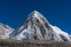 Peak of Pumori mountain, Everest region Stock Images