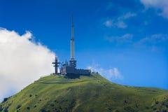 Peak of Puy de Dome in Auvergne Stock Photos