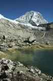 Peak Ranrapalka in Cordilleras Stock Photos