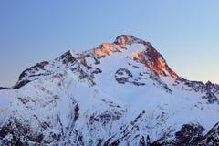 Peak of Roche de la Muzelle Royalty Free Stock Photos