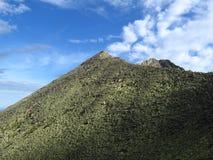 Peak in Sayan. Mountains, Siberia, Russia Stock Image