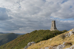 The peak of Shipka. In Bulgaria Royalty Free Stock Image