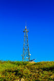 Peak signal tower Royalty Free Stock Images