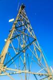 Peak signal tower Royalty Free Stock Photos
