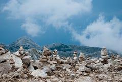Peak St. George (Sveti Jure), Biokovo, Croatia Royalty Free Stock Image