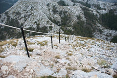 Peak St. George (Sveti Jure), Biokovo, Croatia. Peak St. George (Sveti Jure), National Park Biokovo, Croatia Royalty Free Stock Photography