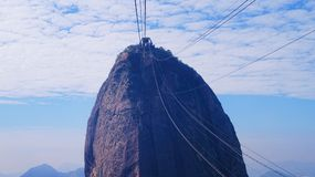 The Peak of Sugarloaf Mountain Rio De Janeiro Royalty Free Stock Image