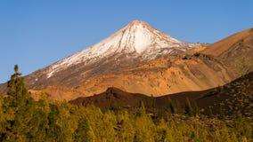 Peak of Tenerife Royalty Free Stock Photography