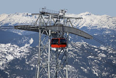 Peak to Peak Gondola in Whistler Stock Images