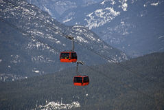 Peak to Peak Gondola at Whistler Stock Photography