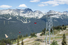 Peak to Peak Gondola Stock Images