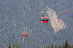 Peak to Peak Whistler Stock Photo
