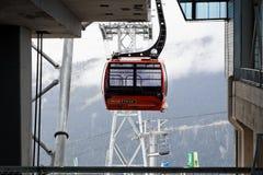 Peak to Peak Whistler Stock Photos