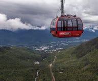 Peak to Peak Whistler Stock Photo
