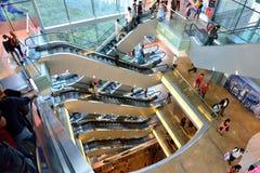 The Peak Tower, Hong Kong Stock Photos