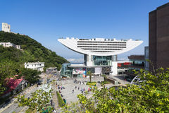 The Peak Tower in Hong Kong Stock Photography