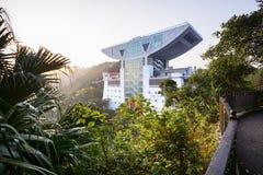 The Peak Tower in Hong Kong Royalty Free Stock Photo