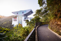 The Peak Tower, Hong Kong Royalty Free Stock Photo