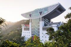 The Peak Tower, Hong Kong Royalty Free Stock Images