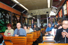 Peak Tram, Central, Hongkong Royalty Free Stock Photography
