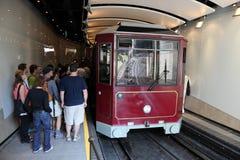 Peak Tram in Hong Kong Stock Photography