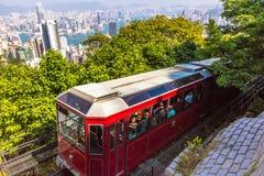 The Peak Tram Stock Photography