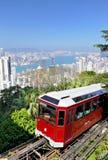 Peak Tram In Hong Kong Royalty Free Stock Photography