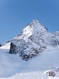 Peak in Tyrol Stubai Alpen mountain Royalty Free Stock Photos