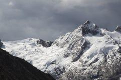 Peak Urus in the Cordilleras Stock Photos