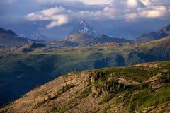 Peak Urusvati in Altai mountains Royalty Free Stock Photography