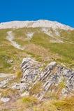 Peak Vihren on Pirin Mountain Stock Images