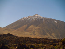 Peak of the volcano Teide Royalty Free Stock Image