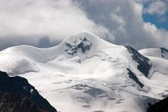 The Peak of Wildspitze (3,774 m /12,382 ft) Royalty Free Stock Image